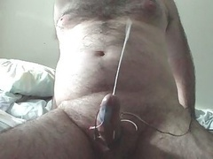 Electro Stim Huge Cumshot