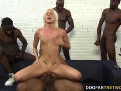 Kacey Villainess Loves Interracial Gangbang and BBCs