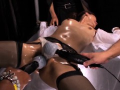 Hairy Japanese MILF toyed with jagged sex toys