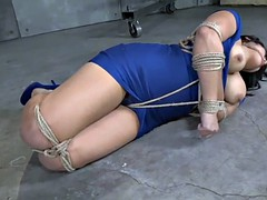 thick asian in bondage