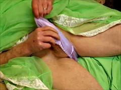 Grosser schwanz, Lingerie, Masturbation