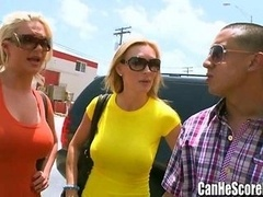 Phoenix Marie and furthermore Tanya Tate double date Oral sex at the Sex Shop