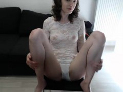 Amateur couple recording their softcore