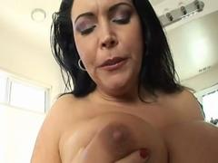 Angelica Sin big soapy tits
