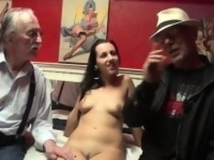 Dutch hooker masturbates