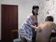 Crazy Mature Amateur on Webcam