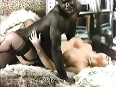 Retro Interracial Blonde Adult entertainment 1