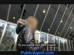 PublicAgent Homeless lady gets screwed to pay for hotel