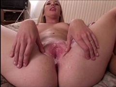 Anaal, Blond, Sperma, Sperma shot