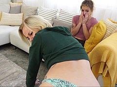 Stepdaughter spanking