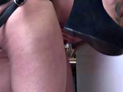 Lorelei Lee with strapon dildo anal fucks Arabelle Raphael