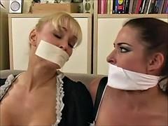 Bondage domination sadisme masochisme, Gros seins, Bondage, Domestique