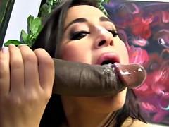 Большой член, Большие сиськи, Черные, Черненькие, Межрасовый секс, Латиноамериканки, Развязные