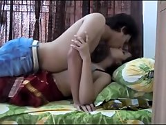hot indian wife fucking in bed