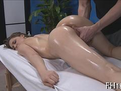 plowing her wet pussy and the action is mesmerizing