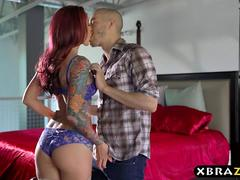 Petite wife with tattoos is a true cheating anal whore