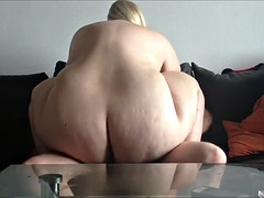 fattie blonde having sex