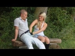 Outdoor Sex German Style