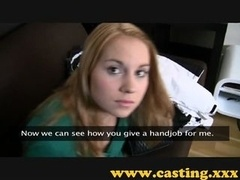 Casting - Smoking hot nervous teen