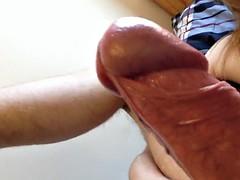 wank and cum #7-1