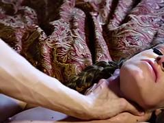 skinny babe kimmy granger bends over for a huge love tool