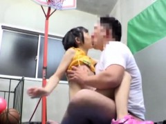 Aya Miyazaki Jav Idol Fucked In The Gym Changing Room