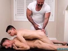 Gay daddies armpit naked Elder Xanders woke up and got