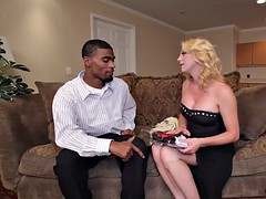 bigtitted tgirl pounded in interracial duo