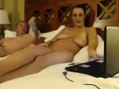 Husband Lets Her Fuck A BBC On Webcam