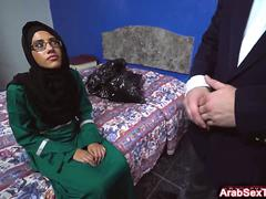 Arabian girlfriend enjoys getting doggystyle pounded