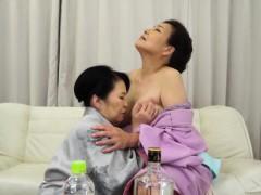 Asian mature boobs