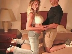Guy Films His Cuckoldress Wife Getting down and dirty One other Guy