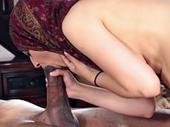 Arabe, Sexo duro, Interracial