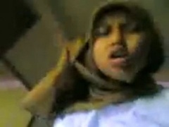 Asiatic Hijab Babe like to fucked
