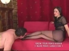 Femdom Pantyhose Foot And additionally Leg Enjoy Part3