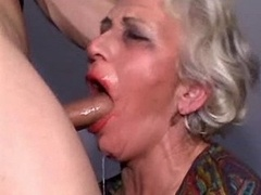 Grannies loves to please young and fresh lads I