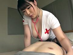 Asiatique, Gros seins, Hard, Japonaise, Infirmière, Bureau