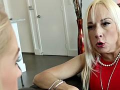 Teen slut fucks stepdad
