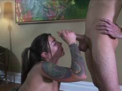 PHILAVISE- A nice fuck with yoga girl Felicity Feline