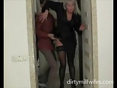 Old Milf Fucking A Young Man