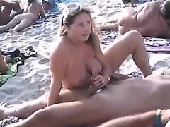 Couples sex on beach Magaret from 1fuckdatecom