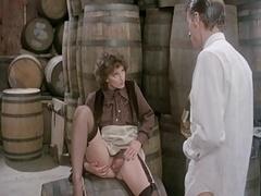 In den arsch, Behaart, Strümpfe, Vintage