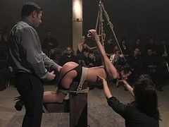 Objectified by a roomfull of devotees