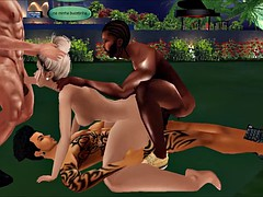 Mandrix Productions - Orgy with MeganBRx - Part II