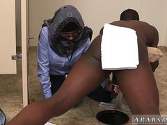 Arab fat ass fucked Black vs White My Ultimate Dick Challenge