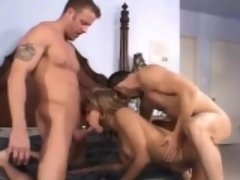 Swinger Threesome With DP