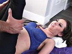 Small titted athlete Kendra Khaleesi take cock