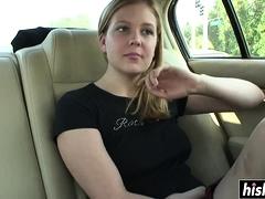 Blonde, Hd, Masturbation, De plein air, Public, Solo, Jouets