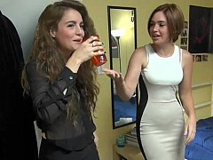 A classy party at the dorm