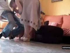 Spanish Mother seduces a Student